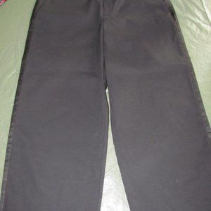 Lord & Taylor Pants - Lord & Taylor Wide Leg Black Long Crops NWT Sz 12